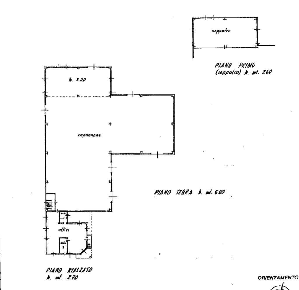 Affitto capannone Palazzago superficie 1860m2