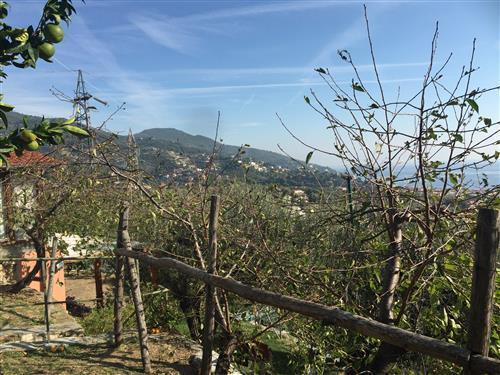 Nella prima collina di Alassio vendesi casa indipendente con terreno