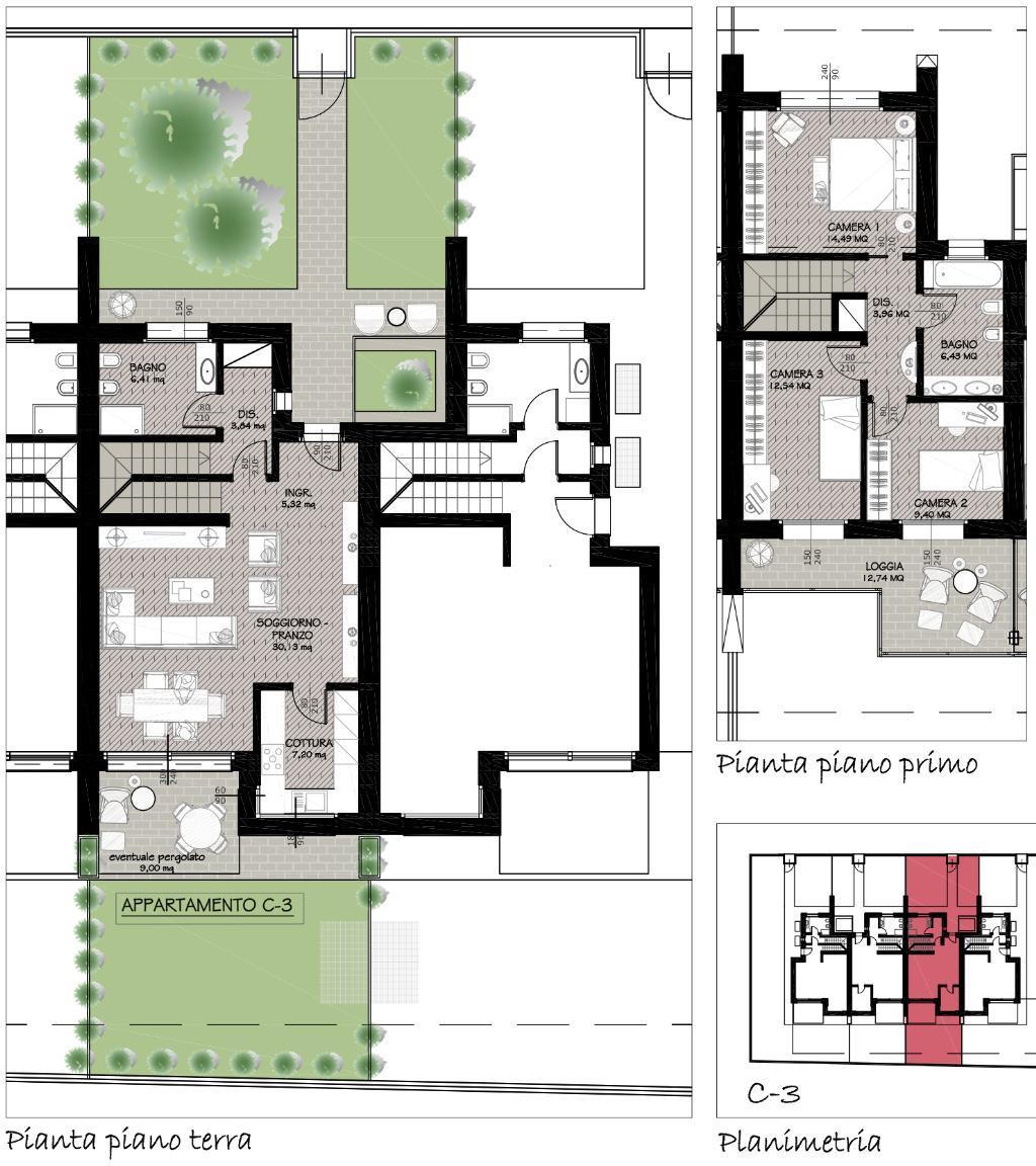 Villa a Schiera Vendita Mapello 4505