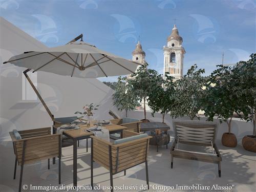 RIF.-04VE531-Esclusivo appartamento vista mare con due terrazzi attrezzati