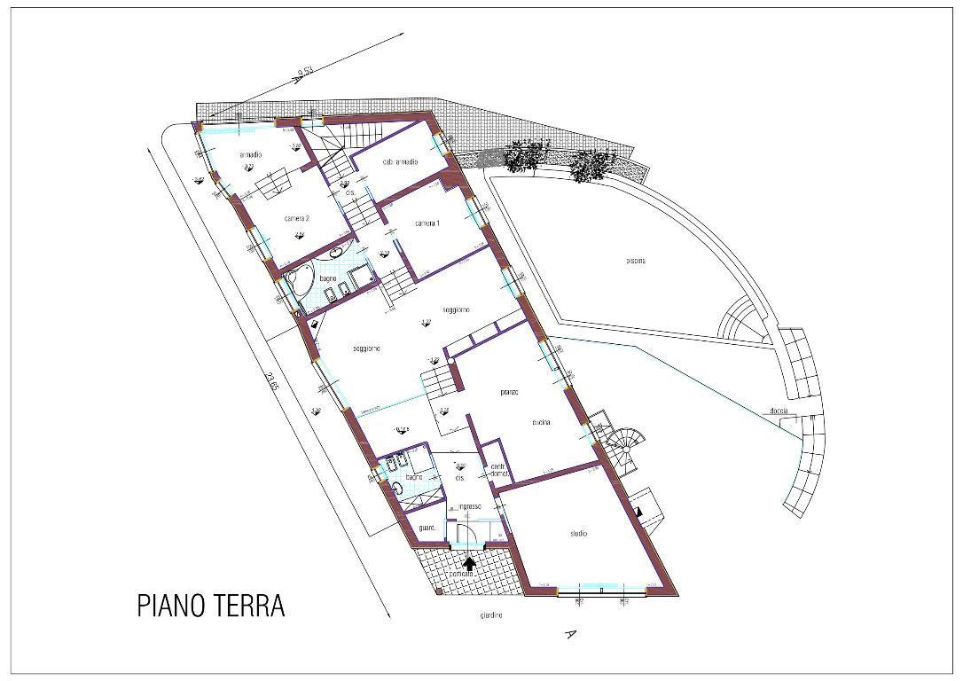 Villa Singola Vendita Almenno San Bartolomeo 4547