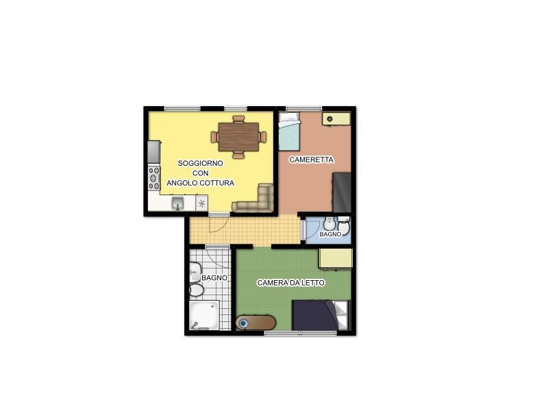 Appartamento in vendita Via Milano snc Cassano d'Adda